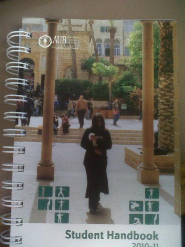 Student Handbook Front
